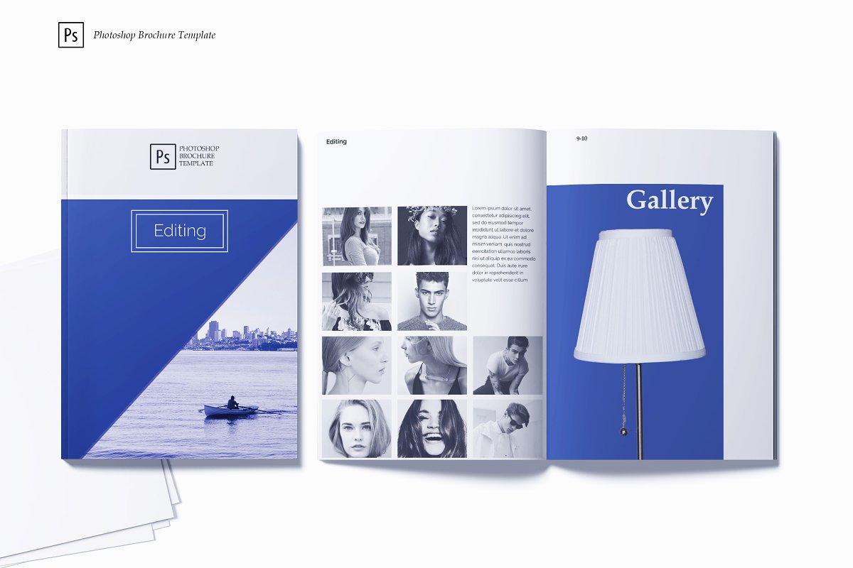 Editing Photoshop Brochure Template