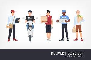 Deliveryman set