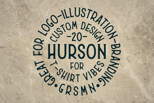 Fonts: Garisman Std - [30% OFF] Hurson Font