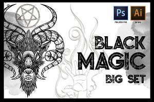 Black magic big set