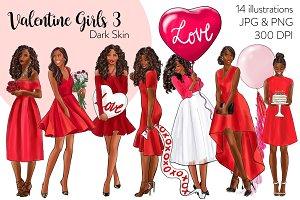 Valentine Girls 3 - Dark Skin