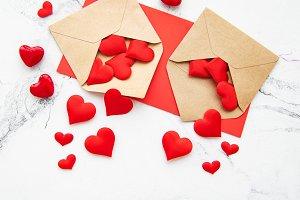 Valentine day romantic background