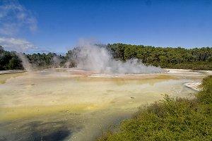 Champagne pool Rotorua