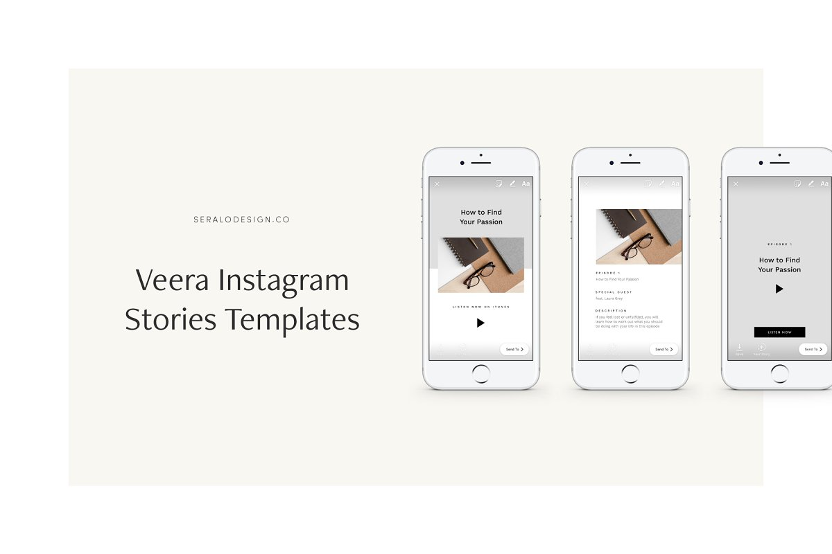 Veera Instagram Stories Pack