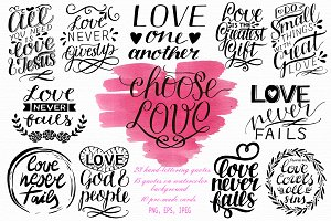 CHOOSE LOVE set