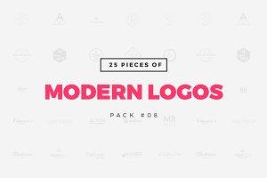 [Pack 08] 25 Modern Logo Templates