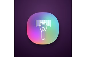 Barcode scanning app icon