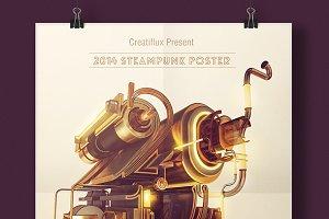 2014 Steampunk Poster