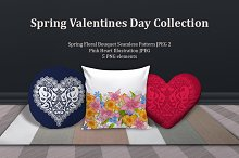 Spring Valentines Day Collection Set