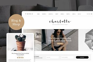 Charlotte - A Personal Blog & Shop