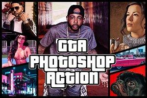 GTA Photoshop Action