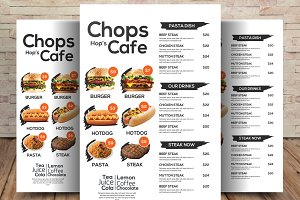 Restaurant Menu - Food Menu Flyer