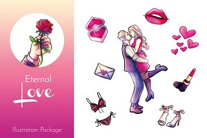 Eternal Love Illustration Package