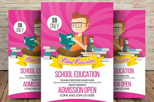 Elementary School Education Flyer