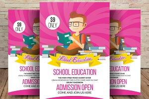 Elementary School Education Flyer