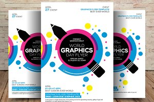 World Graphics Day Flyer