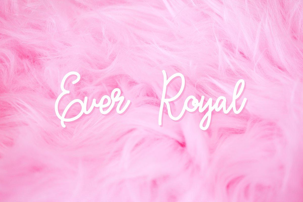 Ever Royal Handwritten Font