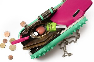 Contents of a Modern Woman's Bag