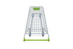 Shopping cart for supermarket