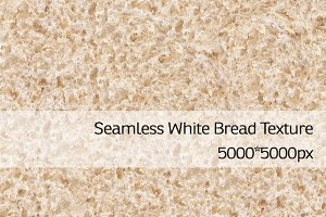 Seamless White Bread Texture