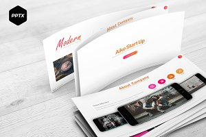 Aiko - Powerpoint Template
