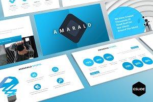 Amarald -  Google Slides Template