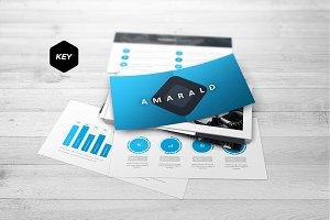 Amarald - Keynote Template