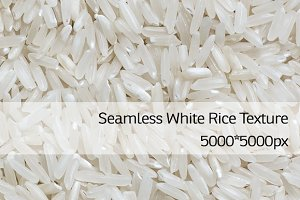 Seamless Rice Texture