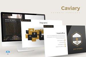 Caviary - Keynote Template