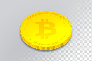 Bitcoin - Editable Smart Object