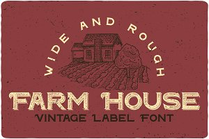 Farm House Typeface