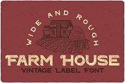 Farm House Typeface