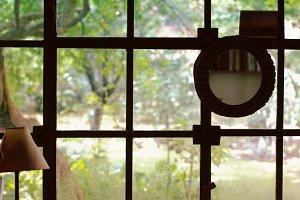 Beyond the window glass IV