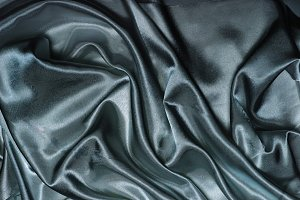 abstract black blue silk fabric