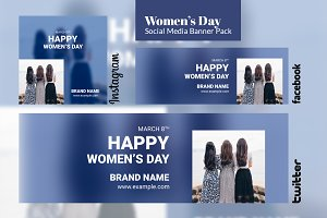 Social Media Pack - Women's Day