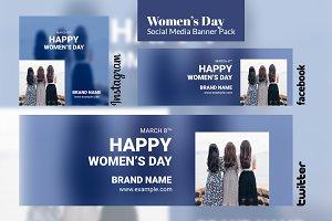 Social Media Pack - Women's Day