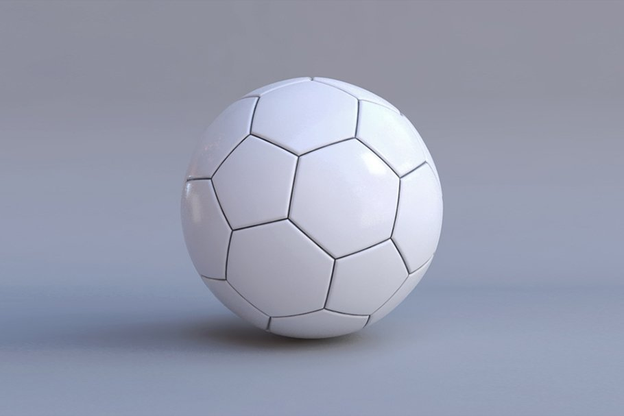soccer ball with black lines