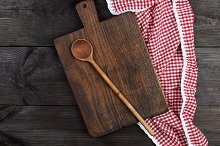 wooden kitchen cutting board  by  in Food & Drink