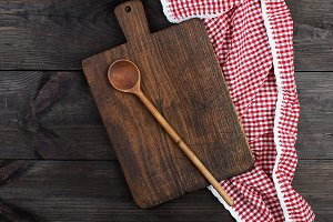 wooden kitchen cutting board