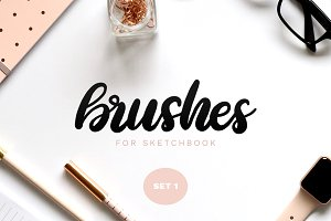 Sketchbook Brushes 1: Calligraphy