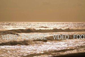 ocean with big waves
