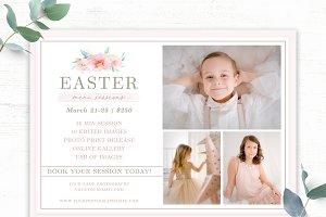 Easter Mini Session Template
