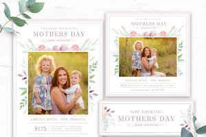 Mommy and Me Mini Session Templates