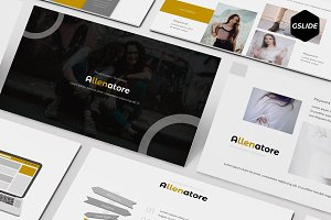 Allenatore - Google Slides Template