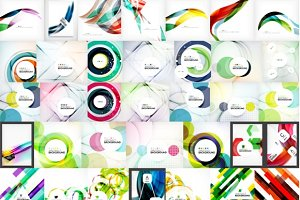Nice abstract backgrounds collection
