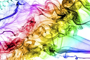 Background of multicolored electric