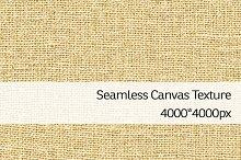 Seamless Canvas Texture