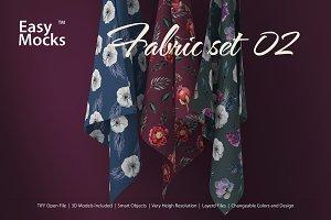 Fabric Mockup set 02