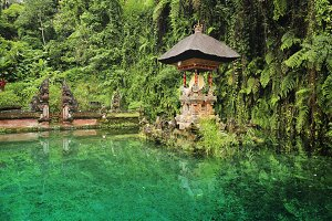 Hindu water temple, Bali