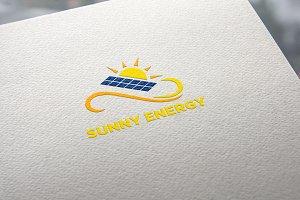 Sunny Energy Logo Template